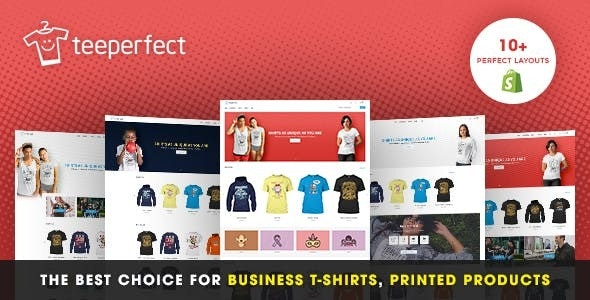 TeePerfect - The best choice for business T-shirts