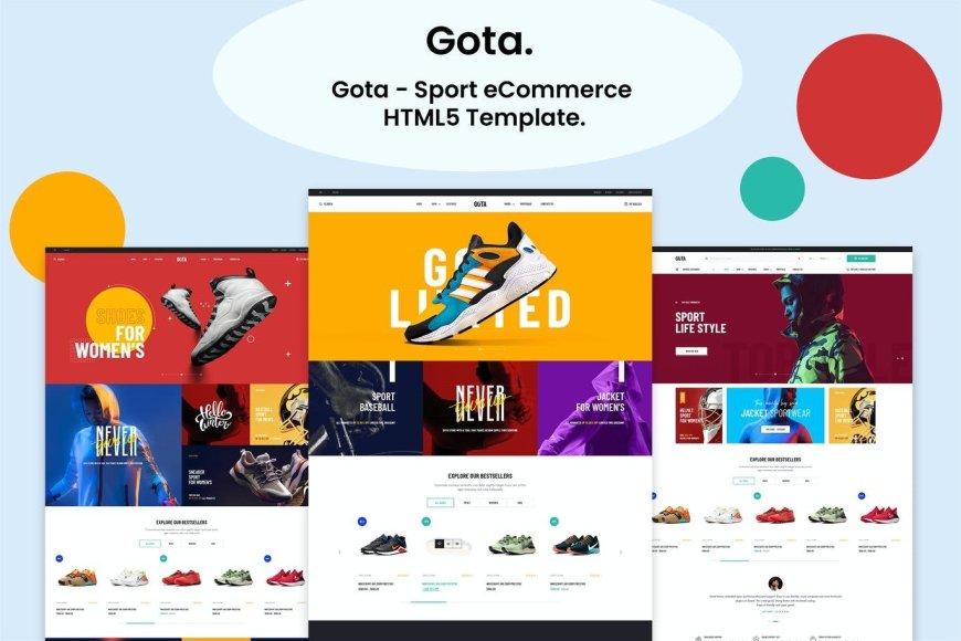 Gota - Sport eCommerce HTML Template