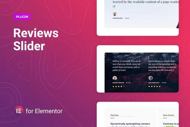 Reviewer - Reviews Slider for Elementor