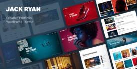 Jack Ryan - Creative Portfolio WordPress Theme