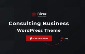 Bizup - Business Consulting WordPress Theme