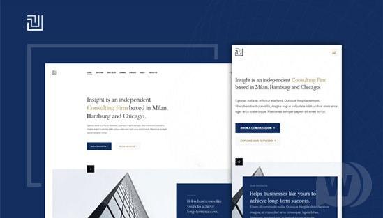JA Insight - premium business template for Joomla