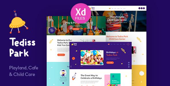 Tediss - Play Area - Child Care Center WordPress Theme