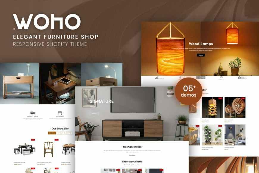 Woho - Elegant Furniture Shop For Shopify