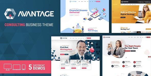 Avantage - Insurance Business Consulting WordPress Theme