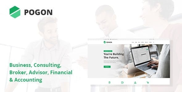 Pogon - Business and Finance Corporate WordPress