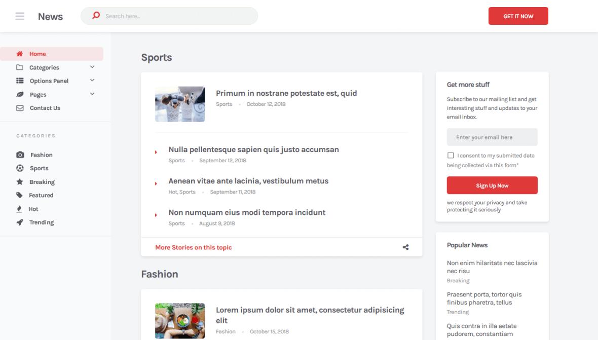 News Theme MyThemeShop