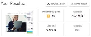 TheGem WordPress Theme Pingdom Test