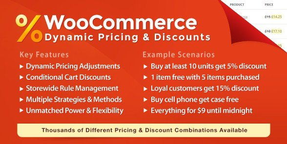 WooCommerce-Dynamic Pricing Discounts