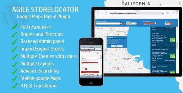 Store Locator Google Maps For WordPress