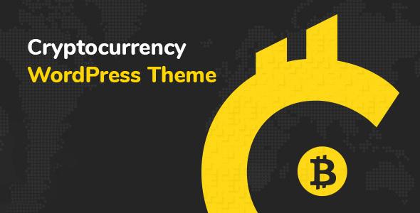 Cryptic Cryptocurrency Wordpress Theme