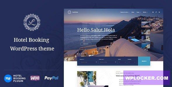 Luviana - Hotel Booking WordPress Theme