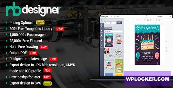 Nbdesigner Pro - Online Woocommerce Products Designer Plugin