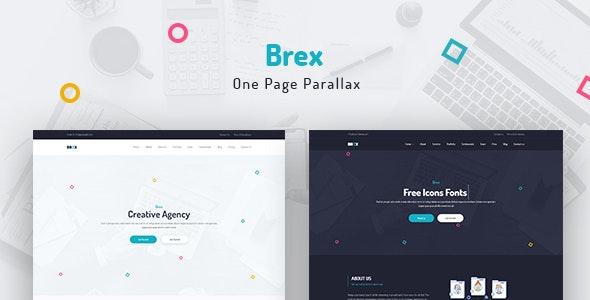Brex - One Page Parallax