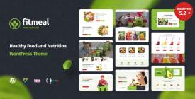 Fitmeal - Healthy Food Delivery and Diet Nutrition WordPress Theme