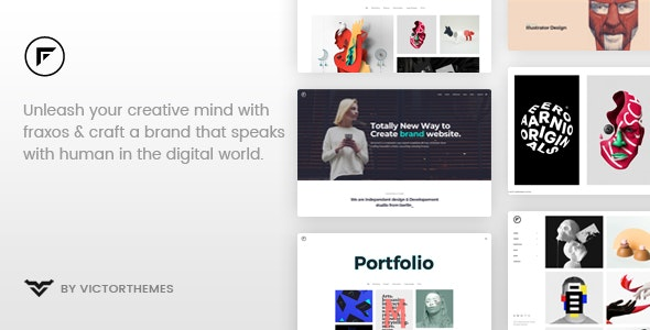 Fraxos - Creative Portfolio WordPress Theme