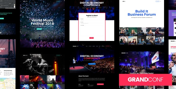 Grand Conference - Event WordPress