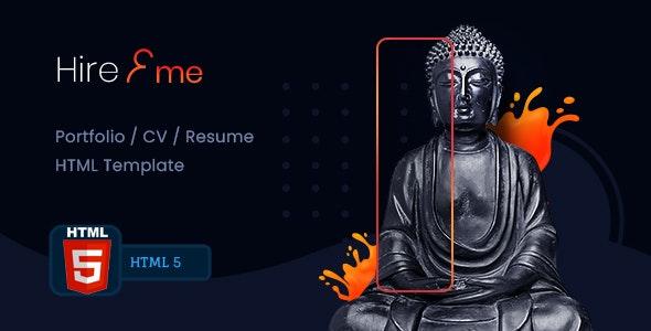 HireMe - Accountant Portfolio HTML Template