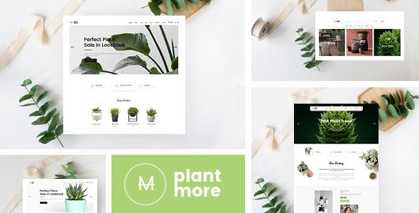 Plantmore - Responsive Theme for WooCommerce WordPress