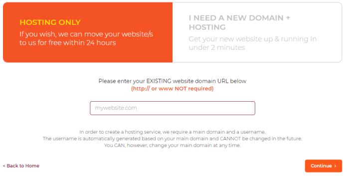 WPX Hosting Domain Name Registration