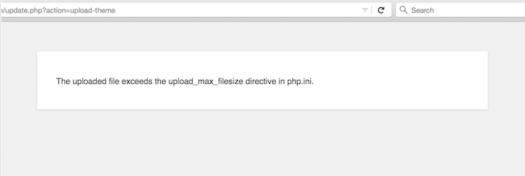 Modify (or Create) php.ini