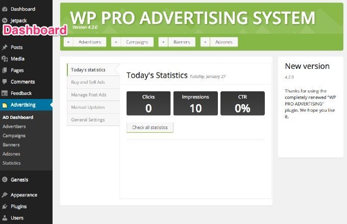 wp-pro-advertising-sytem-dashboard