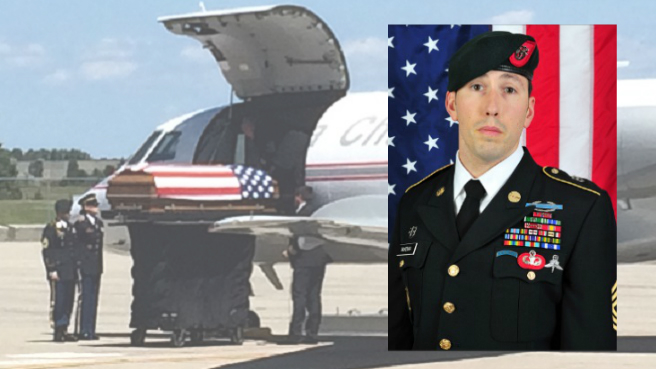 First Sgt. P. Andrew McKenna returns to RI_200831