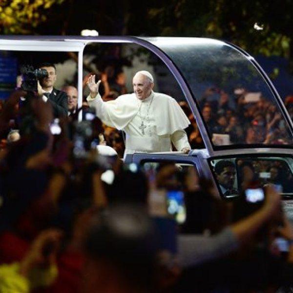 APTOPIX US Pope Francis_213159