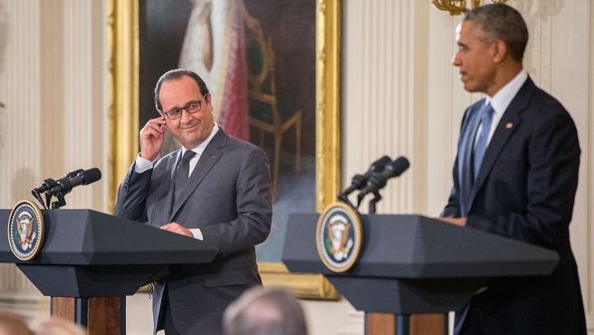 Barack Obama, Francois Hollande_230782
