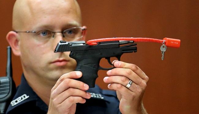 George Zimmerman Pistol_302258