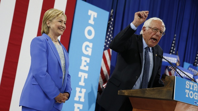 Campaign 2016 Clinton Sanders_329002