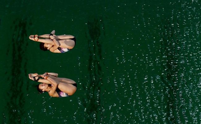 Rio Olympics Diving Women_341909
