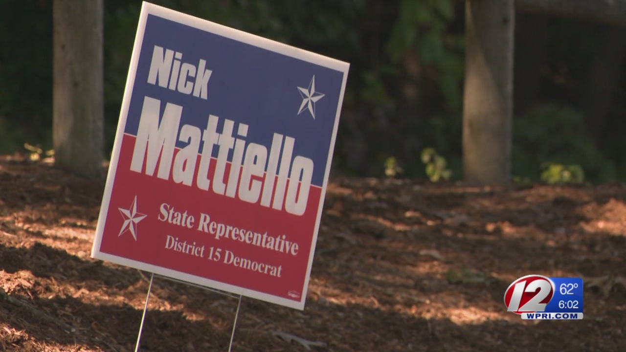 Mattiello campaign sign