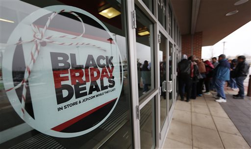 Black Friday Sales, Shoppers, J.C. Penny_384778