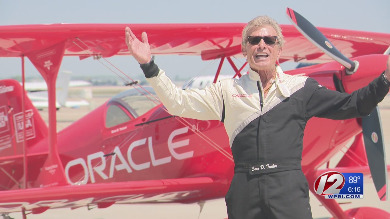 Stunt Pilot Excited for Upcoming RI Air Show