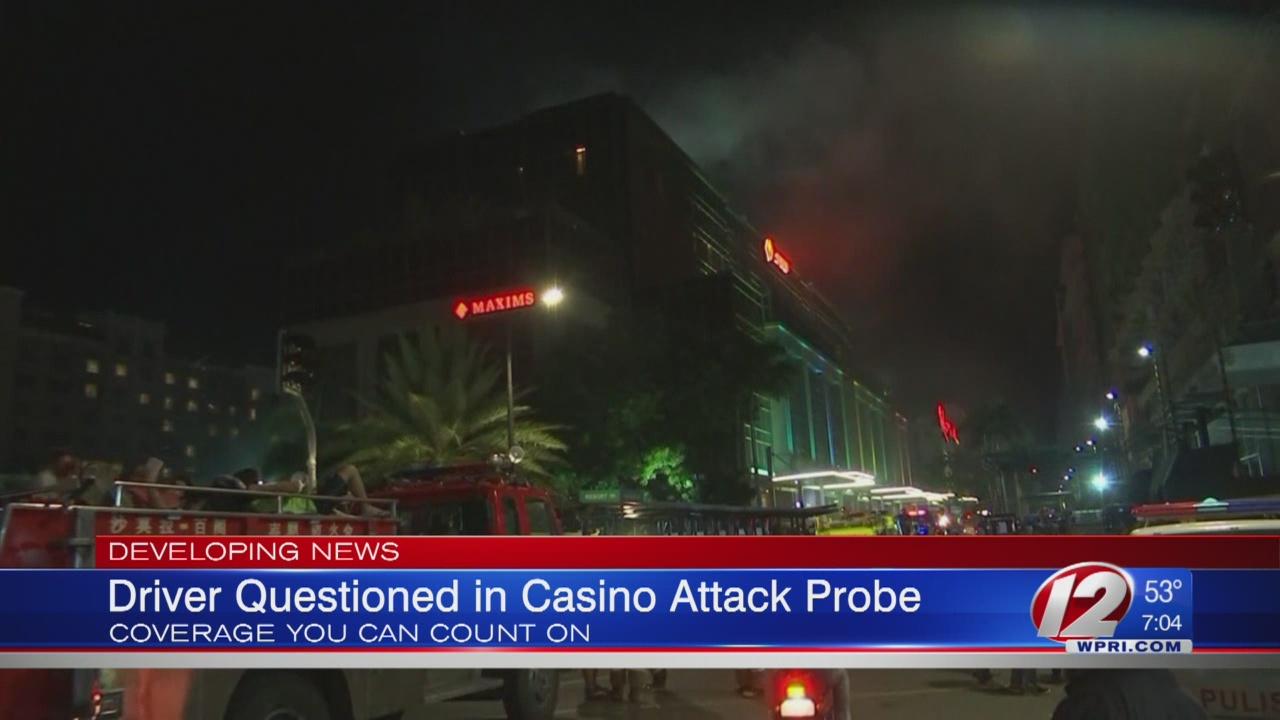 Driver questioned in Philippines casino attack