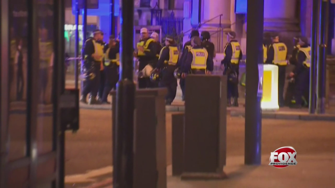 The Latest: Transport police report casualties in London