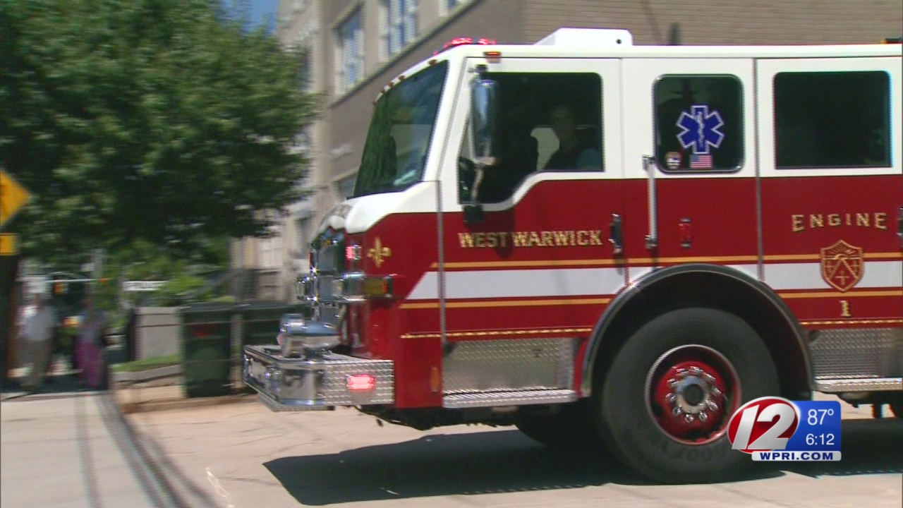 West Warwick fire department receives grant for new truck
