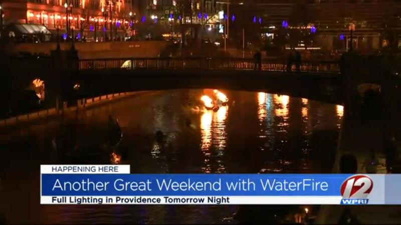 Waterfire in Providence
