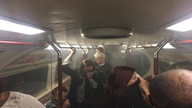 Britain Subway Station Evacuated_532304