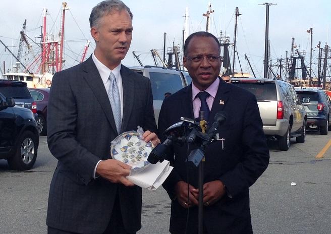 Cape Verde Prime Minister visits New Bedford_560381