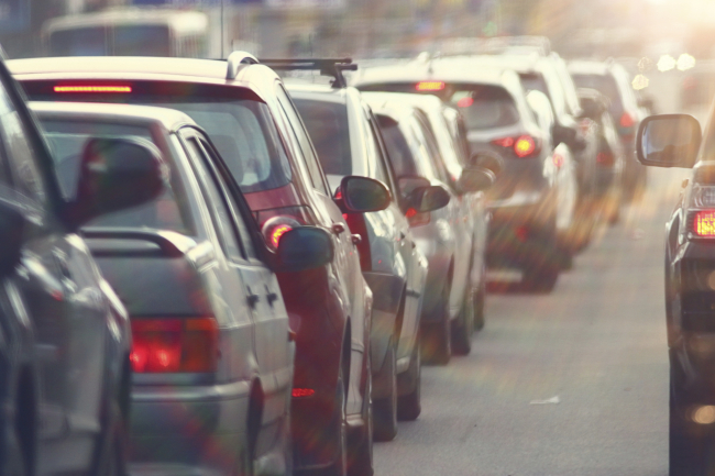traffic jams in the city, road, rush hour_582394