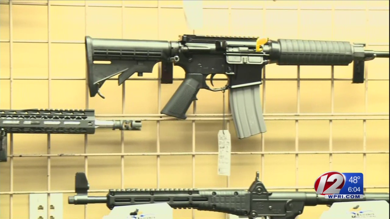 RI assault weapons bans has history of stalling