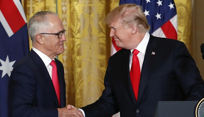 Donald Trump, Malcolm Turnbull_650195