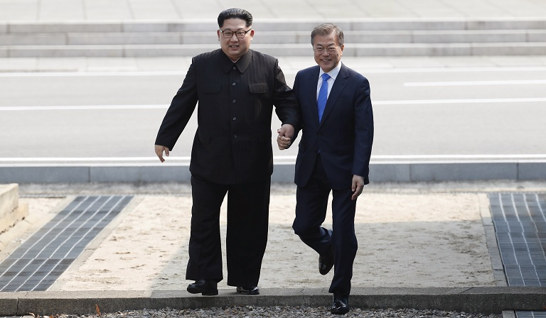 APTOPIX South Korea Koreas Summit_1524847193861