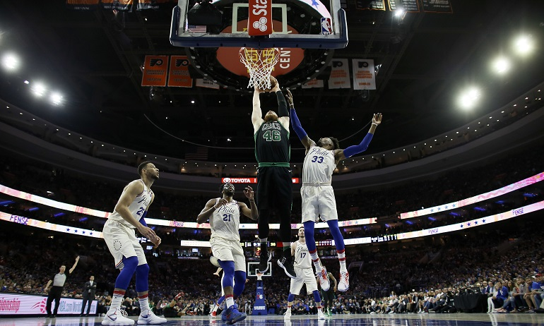 Celtics 76ers Basketball_1525566193428