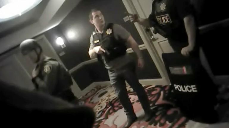 vegas shooting body cam footage