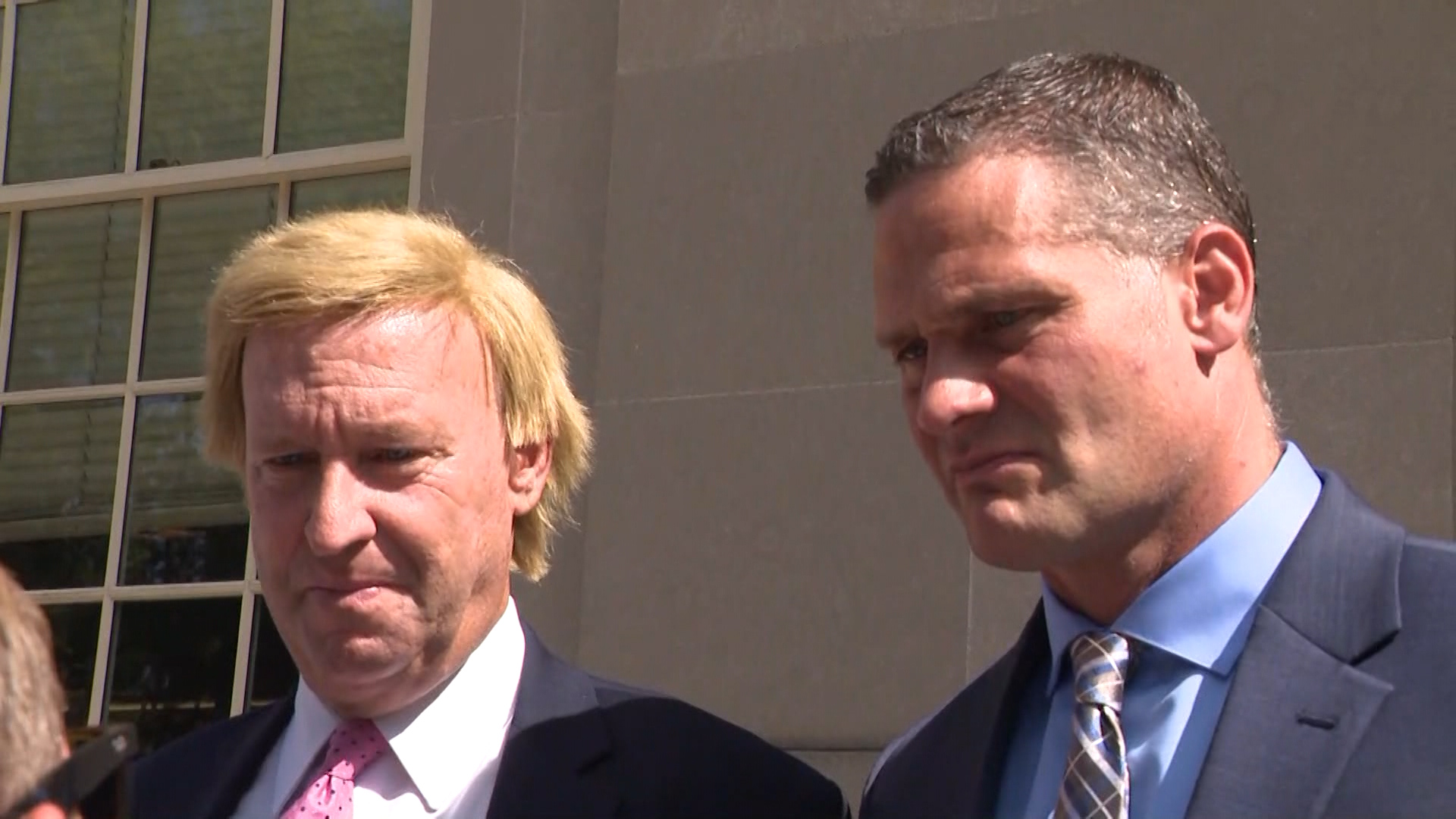 Former RI Sen. Doyle enters initial plea in check fraud case