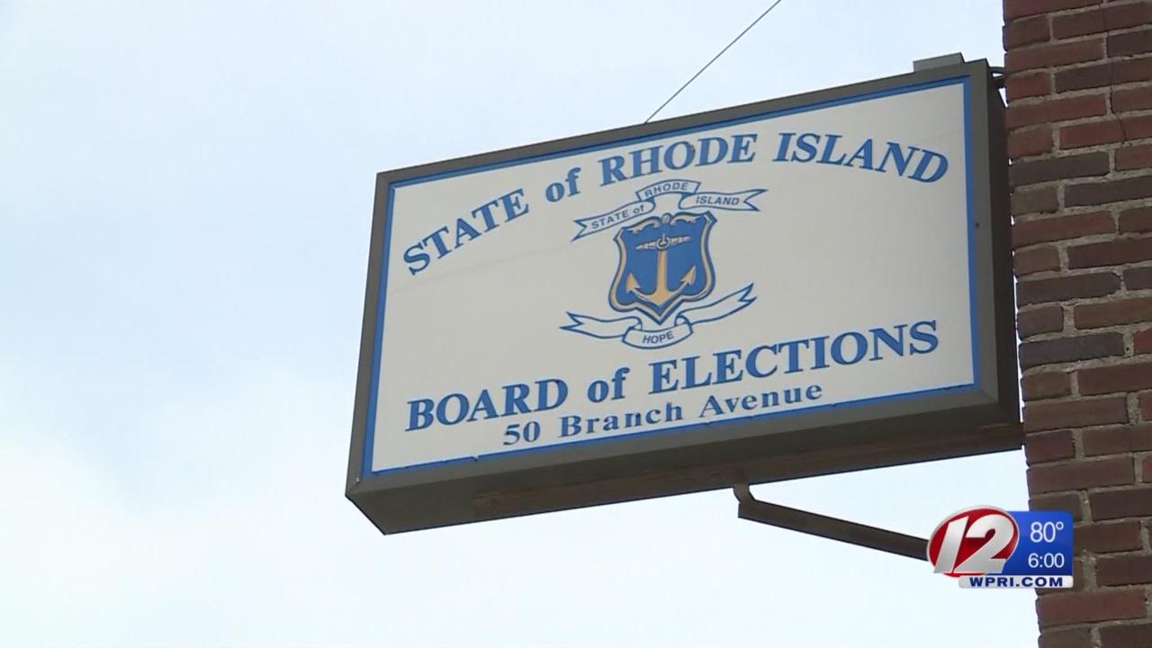 RI Board of Elections HQ