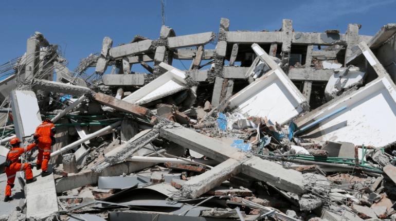 indonesia damage